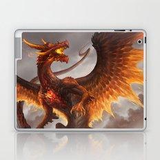 Red Crystal Dragon Laptop & iPad Skin