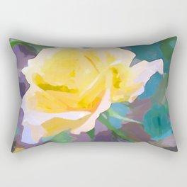 Abstract Flower Rectangular Pillow