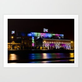 Reflections VIII - 3 Arena Art Print