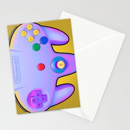N64 PAD Glitched Stationery Cards
