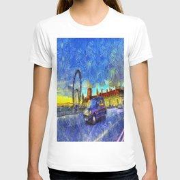 Westminster Bridge Van Gogh T-shirt