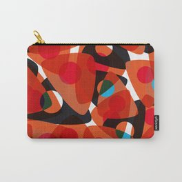orange 70s Carry-All Pouch