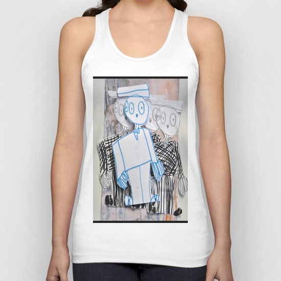 PEOPLE iN SUiTS Unisex Tank Top