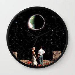 Space Love Wall Clock