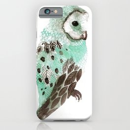 Watercolour Owl iPhone Case