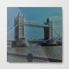 The Tower Bridge in London Metal Print