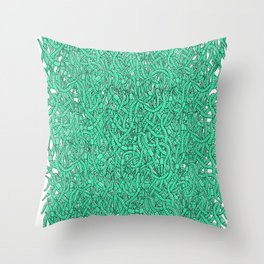 Wormies Throw Pillow