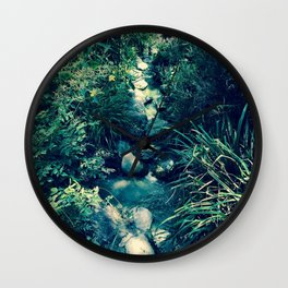 Laid-Back Photography Wall Clock