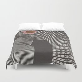 Forced Zones Duvet Cover