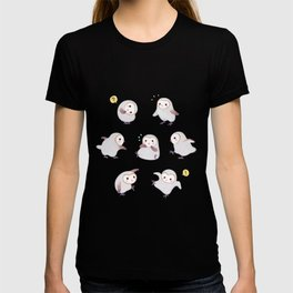 Baby Barn Owls - dark T-shirt