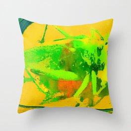 the gracehoper Throw Pillow