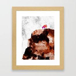 Cow Hill Framed Art Print