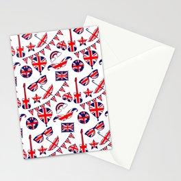 London Union Jack British Pattern Stationery Cards