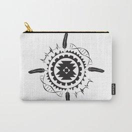 Native Amrican STEM Mandala Southwestern Carry-All Pouch