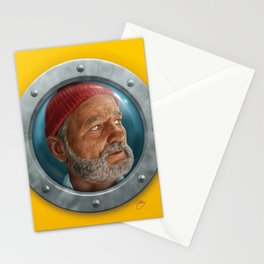 Steve Zissou Stationery Cards