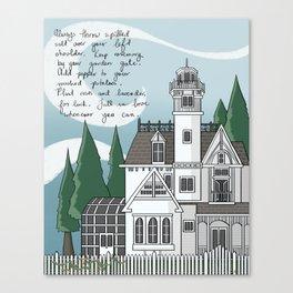The Magic House Canvas Print