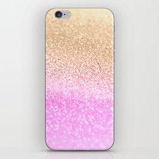 GOLD PINK II iPhone Skin