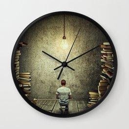 Scribe Wall Clock