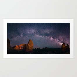 Arches National Park Panorama Art Print