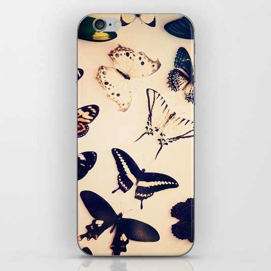 Butterfly Study iPhone & iPod Skin