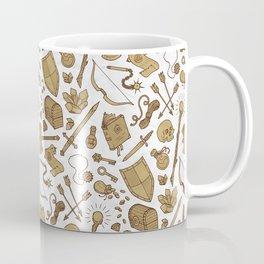 Inventory in Sepia Coffee Mug