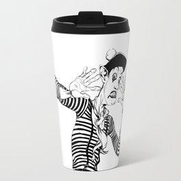 Mime (An invisible wall) Travel Mug