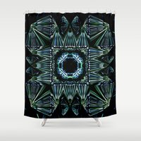 square Shower Curtains featuring Square by GC