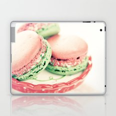 Peppermint Macarons Laptop & iPad Skin