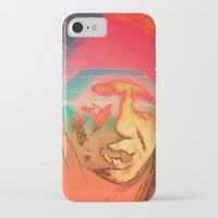sci fi iPhone & iPod Cases featuring Lo-Fi Sci-Fi by potpourrri