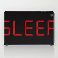 sleep iPad Cases featuring Sleep by StevenARTify