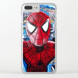 NY SPIDEY Clear iPhone Case