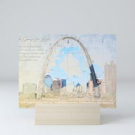 Gateway Arch, Saint Louis USA Mini Art Print