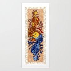 Carpe Diem, Carpe Noctem Art Print