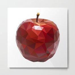 Red apple Metal Print