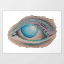 all just eyes IIId Art Print