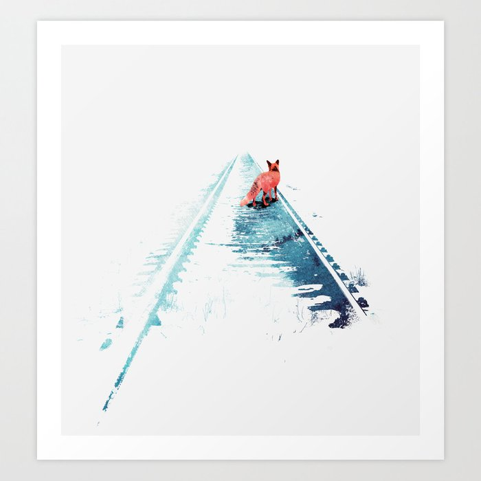 Descubre el motivo FROM NOWHERE TO NOWHERE de Robert Farkas como póster en TOPPOSTER