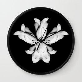 Tulip Corpus Wall Clock