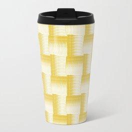 Golden Waves Travel Mug