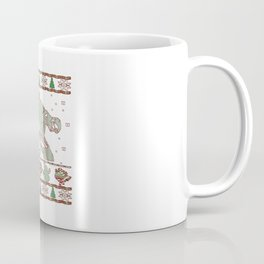 Hockey Goalie Christmas Coffee Mug