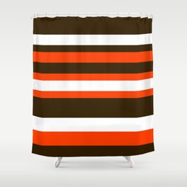 Cleveland Colors Shower Curtain
