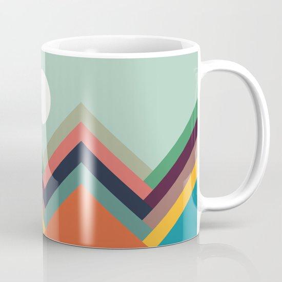 Rows of valleys Mug