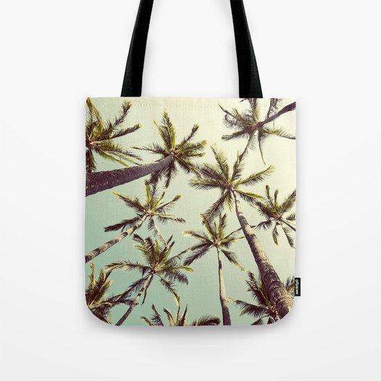 Palm Trees Sway  Tote Bag