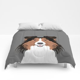 Jordan - Shetland Sheep Dog gifts for sheltie owners and dog people gift ideas perfect dog gifts Comforters