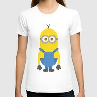minion T-shirts featuring minion by fatimakhaled95