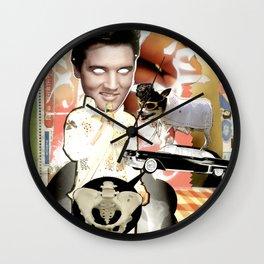 COLLAGE: PElvis Wall Clock