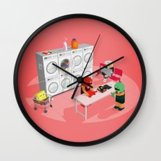 The Nick Yorkers in March Wall Clock