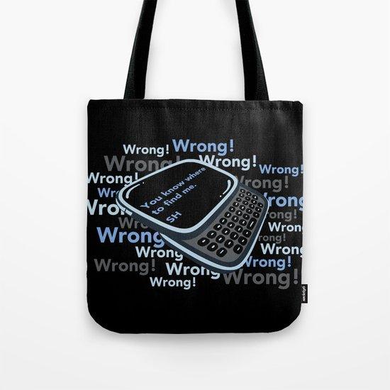 Texting Sherlock Tote Bag
