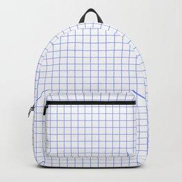 Blue Light Grid Backpack