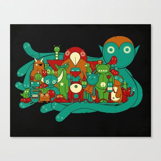 The Watchers Canvas Print
