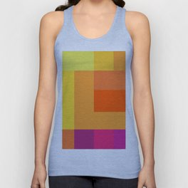 Colourful Pattern Unisex Tank Top